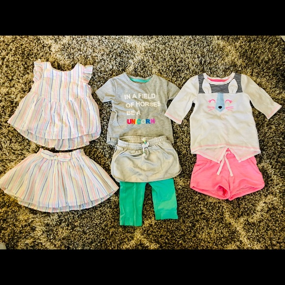 041fb72e5ca5 Cat & Jack Matching Sets | Cat And Jack Toddler Girls Size 2t Bundle ...